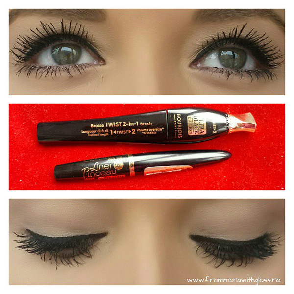 twist up the volume fmwg mascara swatch