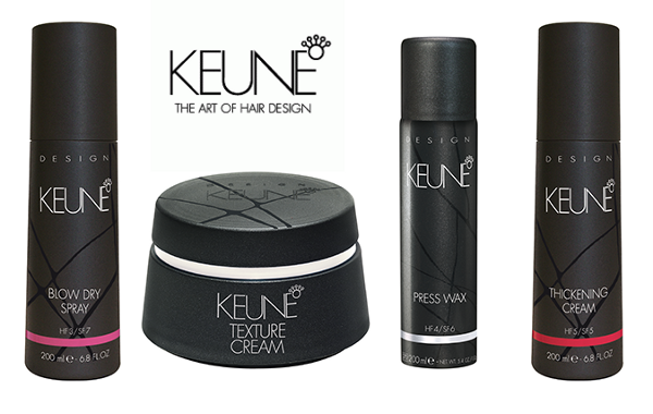 KEUNE NEW STYLING FUNDAMENTALS