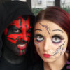 halloween-make-up-darth-maul-broken-doll