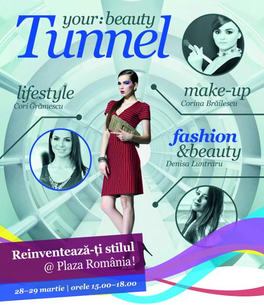 afis beauty tunnel plaza romania