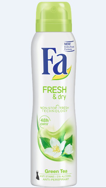 Fa Fresh & Dry Green Tea_spray