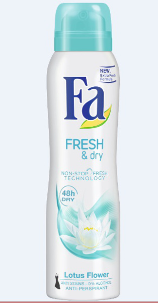 Fa Fresh & Dry Lotus Flower_spray