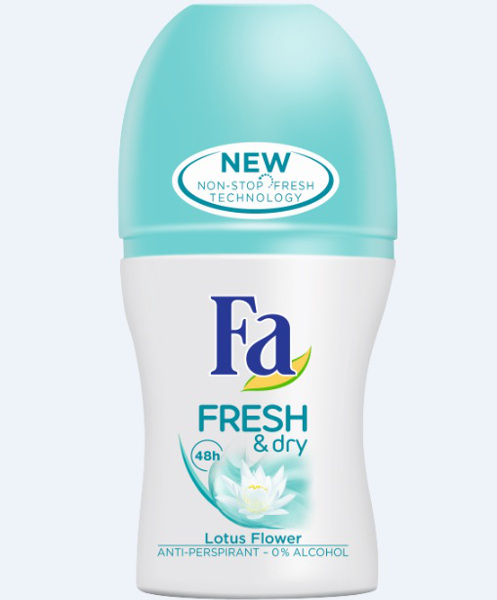 Fa Fresh&Dry Lotus Flower_roll-on