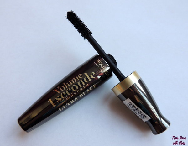 periuta mascara bourjois volume 1 seconde ultra black