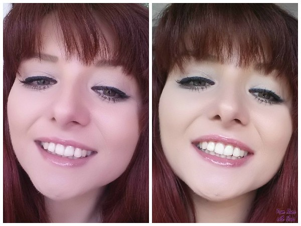 before and after fmwg colgate max white one optic