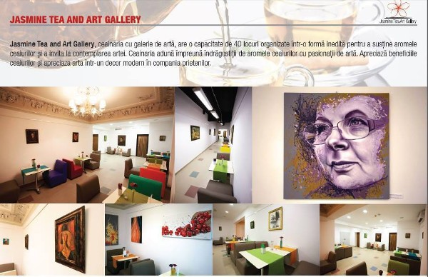 jasmine tea and art gallery