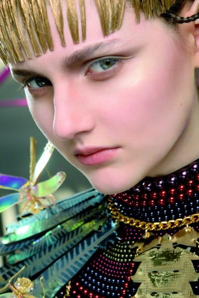 Paris woman fashion Week Fall Winter 2015-16Manish.Arora show