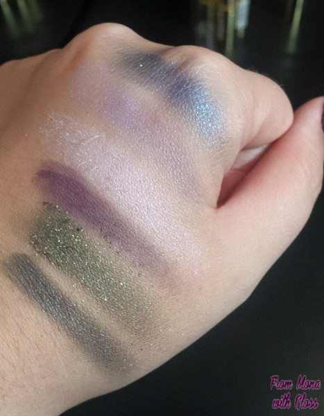 swatch palete max factor