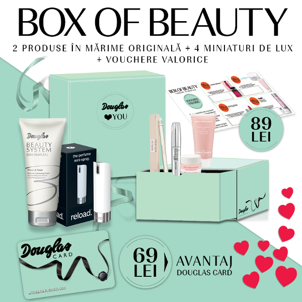 Douglas Box of Beauty februarie 2016