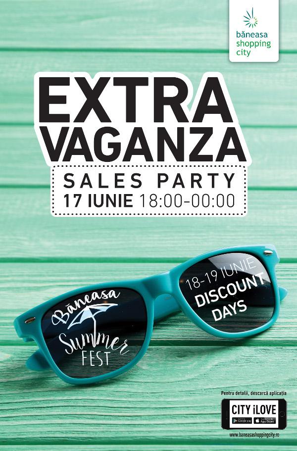 Extravaganza sales Party
