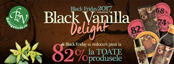 botegga verde black vanilla black friday reduceri