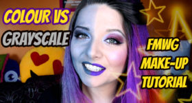 FMWG MAKEUP TUTORIAL colour vs grayscale yt cover