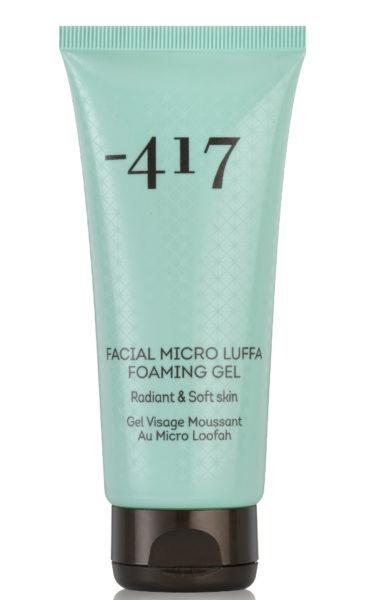 Facial Micro Luffa Foaming Gel -417 review