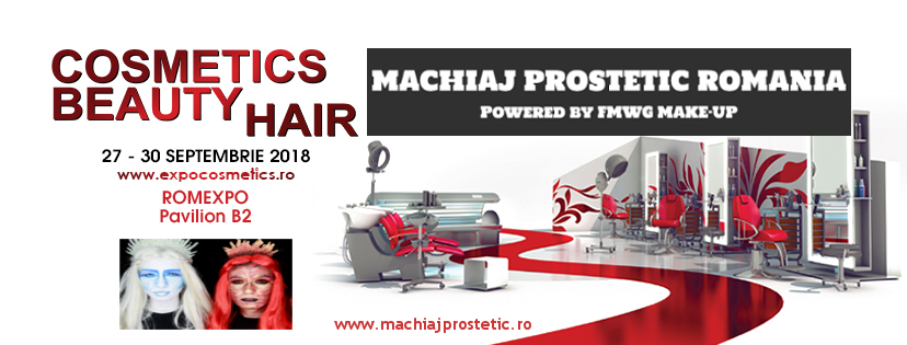 machiaj prostetic romania la cosmetics beauty hair 2018